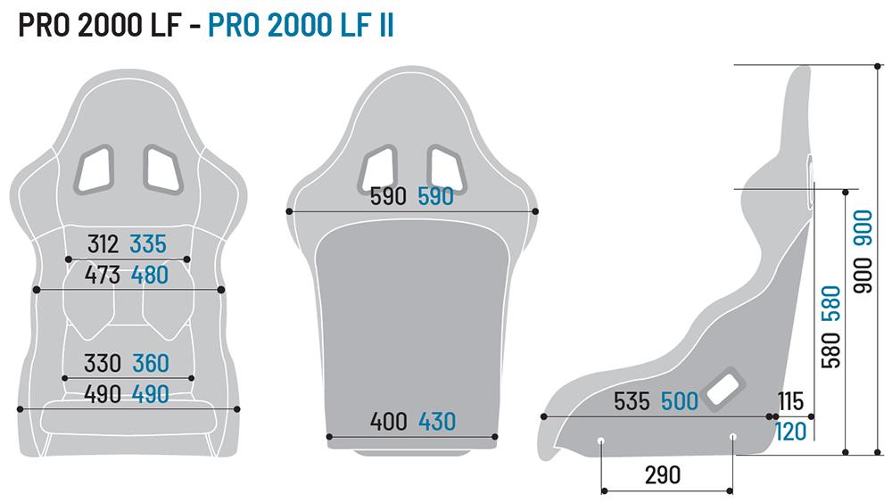 Fotel Sparco Pro 2000